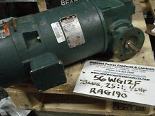 Dodge Reliance Master XL gear motor 56WG12F, 25:1, .50hp, 575v,w/Brake, 56WM12F