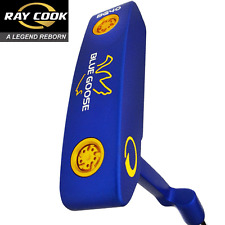 """50% OFF"" RAY COOK BLUE GOOSE CLASSIC 34"" PUTTER + HEADCOVER & MIDSIZE GRIP"