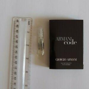 Giorgio Armani Code Pour Homme 1.5 ml / 0.05 fl oz Cologne Spray Sample Vial