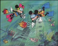 Palau 1994 Disney/Mickey Mouse/Diving/Shipwreck/Cartoons/Animation 1v m/s b6070c