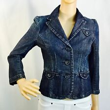 AMERICAN EAGLE OUTFITTERS Cropped Jacket, denim, size XS/TP