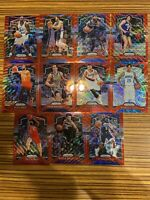 2019 Panini Prizm Red Wave Investment Lot (11) Rare Sp Refractors