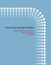 Systems Engineering and Analysis by Wolter J. Fabrycky, Benjamin S. Blanchard (Paperback, 2013)