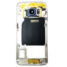 Carcasa Intermedia Samsung Galaxy S6 Edge SM-G925F Azul Chasis Original