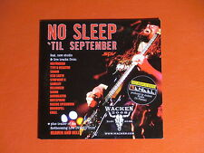 PROMO-CD No Sleep 'til September METAL