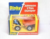 Dinky 430 Johnson 2 Ton Dumper In Its Original Box - Near Mint Vintage Original