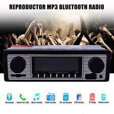 MP3 Player Vintage Car Bluetooth Radio Stereo Classic Style MP3/USB/SD/AUX/FM