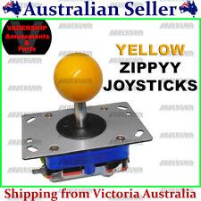 ZIPPYY Joystick – 2-4-8 WAY (Short Stick) (YELLOW) ARCADE or MAME