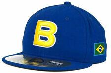 Brazil Men's New Era 59FIFTY World Baseball Classic Fitted 7 3/4 Hat Cap - Blue