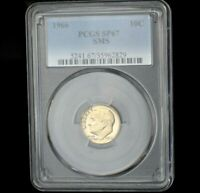 1966 Roosevelt Dime~PCGS SP67~Special Proof~SMS~10C~Combined Shipping~!