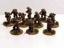 28mm Bolt Action Chain Of Command WWII British Infantry 10 Figures Painted #2
