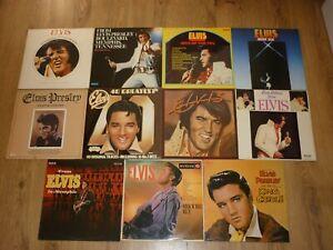 11 x ELVIS PRESLEY VINYL LP's - ELVIS RECORD COLLECTION