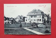 AK GROßRÖHRSDORF um 1910 Villen Wohnhaus    ( 37607