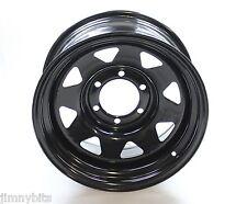 "Mitsubishi L200 K74 16"" Black 8"" ET-20 Modular Steel Wheel 6x139.7"