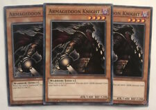 Yu-Gi-Oh! LEHD-ENC06 - 3 x Armageddon Knight - 1st edition - Common