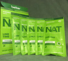 Pruvit KETO OS NAT Lime Time Charged 5 Packets exp 9/21
