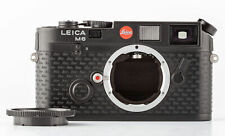 """LEITZ Leica m6 Edition """"un pezzo di Leica"""" ipo 1996 fotocamera 694/996 Nero"""