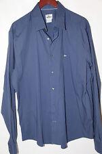 #53 Lacoste Logo Long Sleeve Sports Shirt Size 45