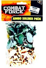 COMBAT FORCE JUMBO SOLDIERS  TWO COLOURS PACK