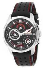 Relojes de pulsera baterías de plata de día y fecha