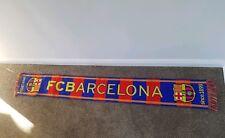 Barcelona Official Vintage Football Scarf Bufanda Soccer Fan Fancy Spain  0045 a8dfa6be658