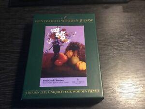 WENTWORTH WOODEN JIGSAW FRUIT AND FLOWERS HENRI FANTIN-LATOUR 140