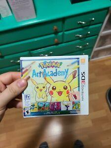 Pokemon art academy 3ds brand new sealed