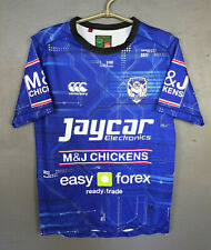 MEN CANTERBURY NRL RUGBY LEAGUE BULLDOGS HOME SHIRT JERSEY CAMISETA SIZE S SMALL