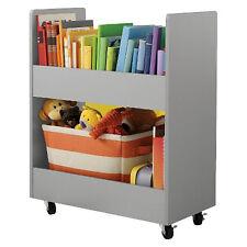 circo children rolling toy box organizer cart storage  book shelf Paper Veneer