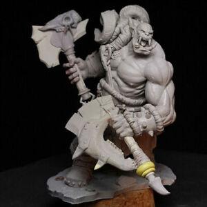1/24 Resin Figure Model Kit Orc Rager Warrior GK Garage Unassembled Unpainted