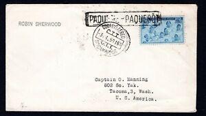 Mozambique 'PAQUETE-PAQUEBOT' cancel. Hosking 1334 (C48)