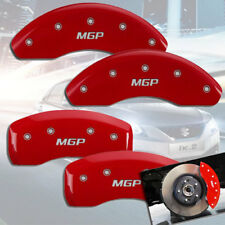 "2006-2011 Suzuki Grand Vitara Front + Rear Red ""MGP"" Brake Disc Caliper Covers"