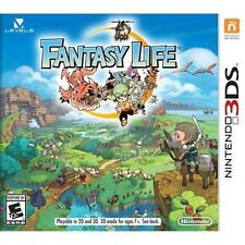 NINTENDO 3DS Video Game FANTASY LIFE RPG Role Playing Game SEALED