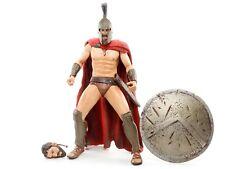 "300 Movie Series 1 Spartan KING LEONIDAS 7"" Action Figure NECA 2007"