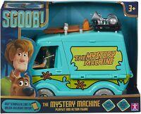 Scooby Doo Máquina Misterio Furgoneta Playset de Juguete & 12.7cm Shaggy Figura