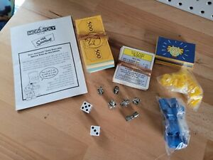 2001 The Simpsons Monopoly Game Replacement Parts Set FULL SET