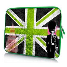 Design Schutzhülle 13,3 Zoll (33,8cm) Notebook Laptop Tasche - Green Union Jack