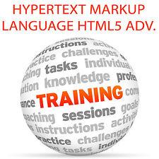 Lenguaje de marcado de hipertexto HTML 5 Advanced-Video Tutorial DVD de entrenamiento