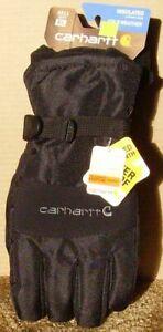 Carhartt Waterproof Insulated Glove A511  Black XL