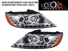 Set of Pair Headlights w/ Led Halo and Parking lights for 2011-2013 Kia Sorento (Fits: Kia)