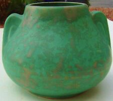 ART DECO VASE POTTERY GREEN ARTS & CRAFTS BURLEY WINTER MODERNIST VINTAGE 20's