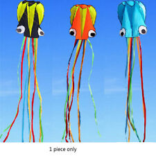 Octopus Soft Sport Fly Outdoor 4M Octopus Kite 30M Line Board Colorful E9C