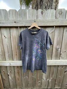 Vintage Nike T Shirt USA OG Single Stitch Air Tie dye Tagged XL fits S/M