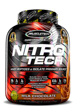 MuscleTech NITRO Tech Whey Protein Isolate Performance Series 4lb Chocolate