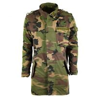 Original vintage Slovakian army field jacket M97 Slovakia military combat parka