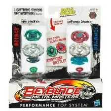 Toupies Beyblade Metal Masters : Duel Inferno Gasher et Ray Striker aille Unique