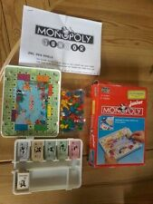 Parker Brothers Monopoly-Reisespiele