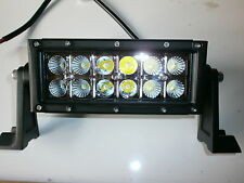 "OFF ROAD Led Light Bar 6 "" 36W 12V & 24V COMBO alluvione & Spot 2880 Lumen 2X6 LED"