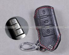 Genuine Leather Key Holder Case Cover for Volkswagen Magotan Passat B6/B7/CC