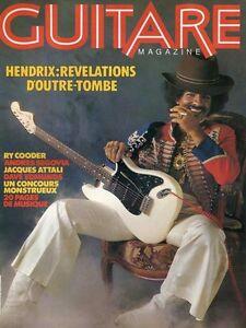 Guitare Magazine #3 HENDRIX : REVELATIONS D'OUTRE-TOMBE
